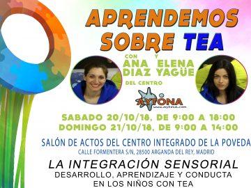 Aprendemos sobre TEA con Ana Díaz y Elena Yagüe