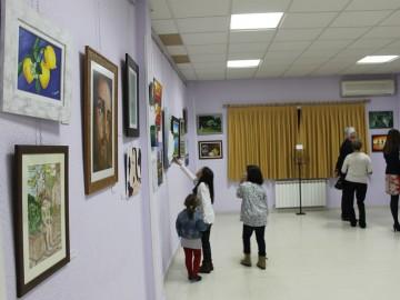 """Inauguración de la exposición """"Acercando el arte al TEA"""""""
