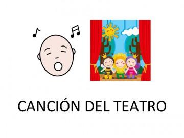 Canción del teatro