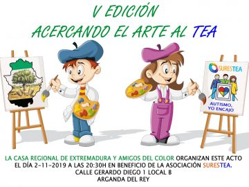 V Exposición «Acercando el arte al TEA»