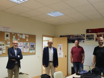 Convenio entre SuresTEA y Carlos Férnandez Pascual y Ángel Bravo del Valle